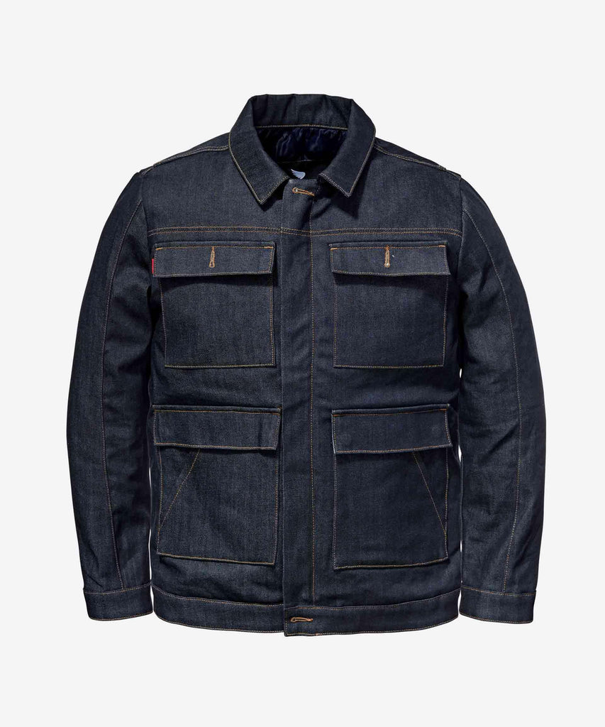 Saint WORKS Cargo Jacket - Indigo - City Limit Moto