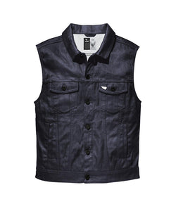Saint Moto Denim Vest -Indigo - City Limit Moto