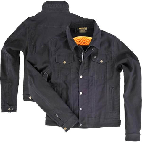 "Rokker ""Black Jakket"" Men's Riding Jacket - City Limit Moto"