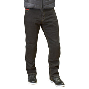 "Merlin Route 1 ""Blake"" Men's Stretch Jeans - Black"