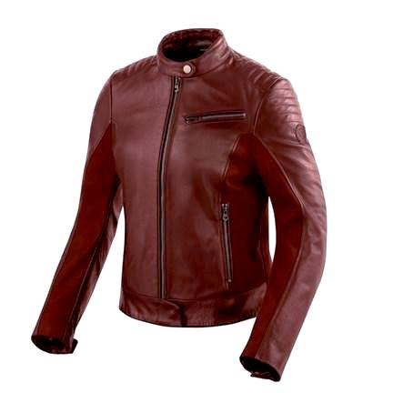 "Rev'it! ""Clare"" Women's Leather Jacket - Red - City Limit Moto"