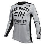 "Fasthouse ""DICKSON L1"" Jersey - Silver - City Limit Moto"