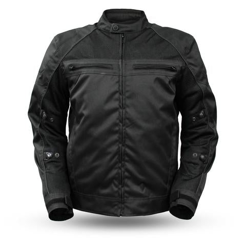 "First Manufacturing ""EXPLORER"" Men's Leather Jacket - City Limit Moto"