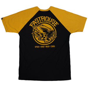 FastHouse - Hawkins Falke Tee - Black/Vintage Gold - City Limit Moto