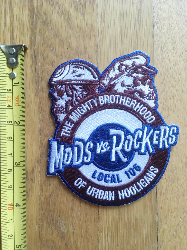 "MotoBlot Patch - Mods Vs Rockers ""Local 106"" - City Limit Moto"