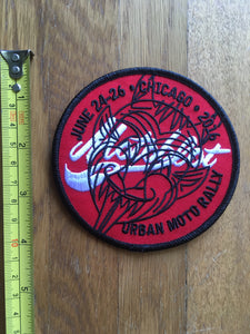 MotoBlot Patch - 2016 - City Limit Moto