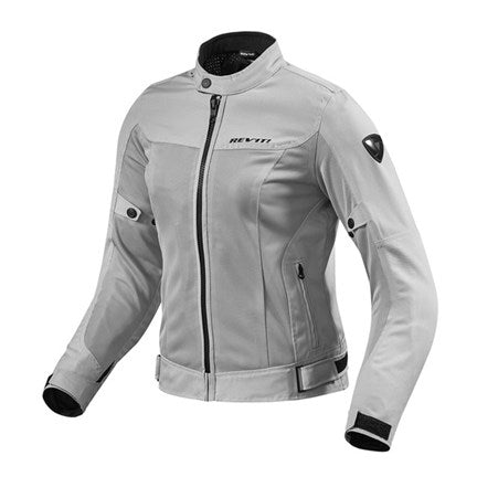 "Rev'it Ladies ""Eclipse"" Jacket - Silver - City Limit Moto"