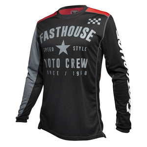 "Fasthouse ""PHANTOM L1"" Jersey - Black - City Limit Moto"