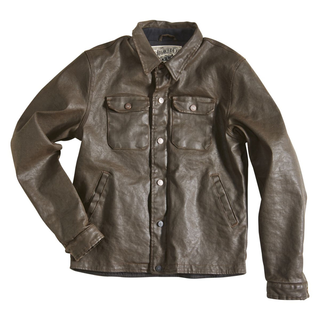 "Rokker ""Rokkertech"" Jacket - Brown - City Limit Moto"