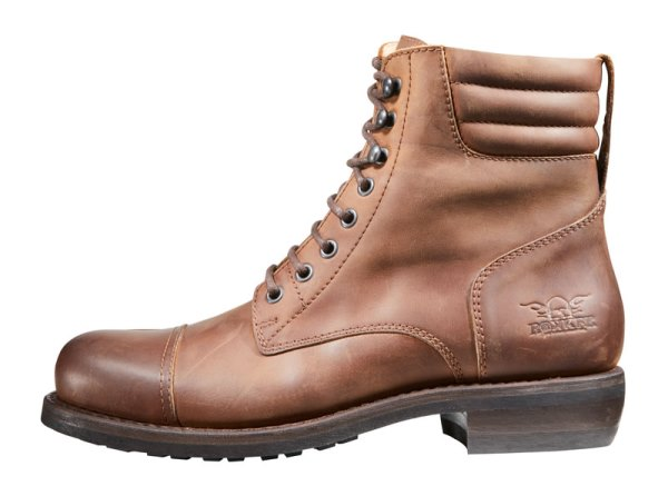 "Rokker ""Urban Racer"" Men's Boots - Dark Brown - City Limit Moto"