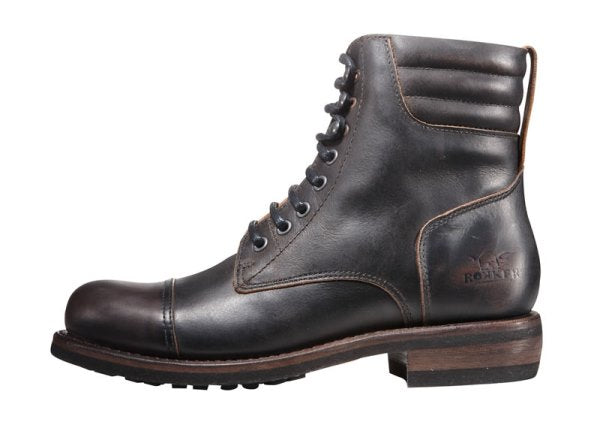 "Rokker ""Urban Racer"" Men's Boots - Black - City Limit Moto"