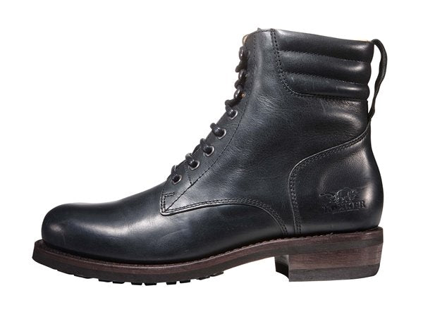 "Rokker ""Classic Racer"" Men's Boots - Black - City Limit Moto"