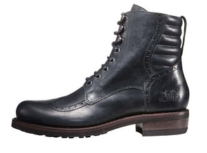 "Rokker ""Gentleman Racer"" Men's Boots - Black - City Limit Moto"