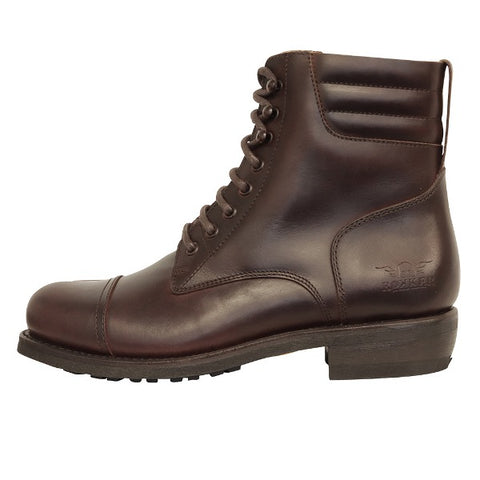 "Rokker ""CLASSIC RACER"" Boots - Dark Brown - City Limit Moto"