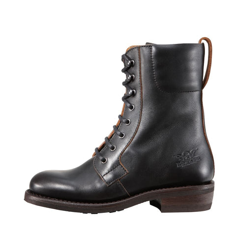 "Rokker ""Urban Racer"" Women's Boots - Black - City Limit Moto"