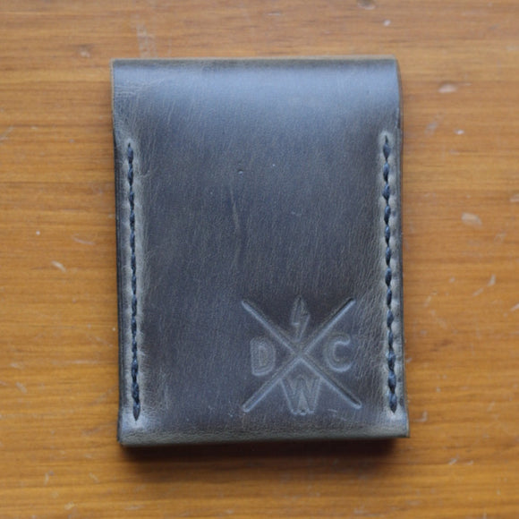 Dark Water Classic - Balisong Wallet - Slate - City Limit Moto