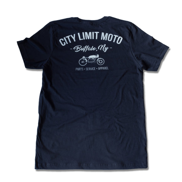 City Limit Moto - Shop Tee - Men - City Limit Moto