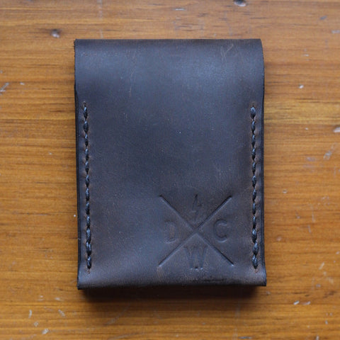 Dark Water Classic - Balisong Wallet - Chestnut Dublin - City Limit Moto