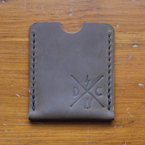 Dark Water Classic - Switch Blade Wallet - Chestnut - City Limit Moto