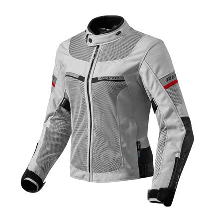 "Rev'IT Women's ""TORNADO 2"" Jacket - Silver/Blk - City Limit Moto"
