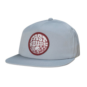"Fasthouse ""WAXED"" Hat - Grey - City Limit Moto"