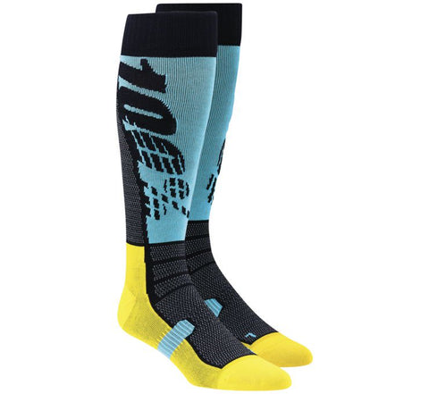 "100% Men's ""Hi Side"" Moto Socks - City Limit Moto"