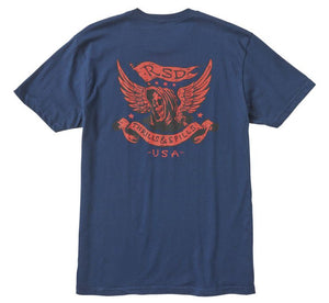 Roland Sands Design Men's Thrills And Spills Tee - City Limit Moto