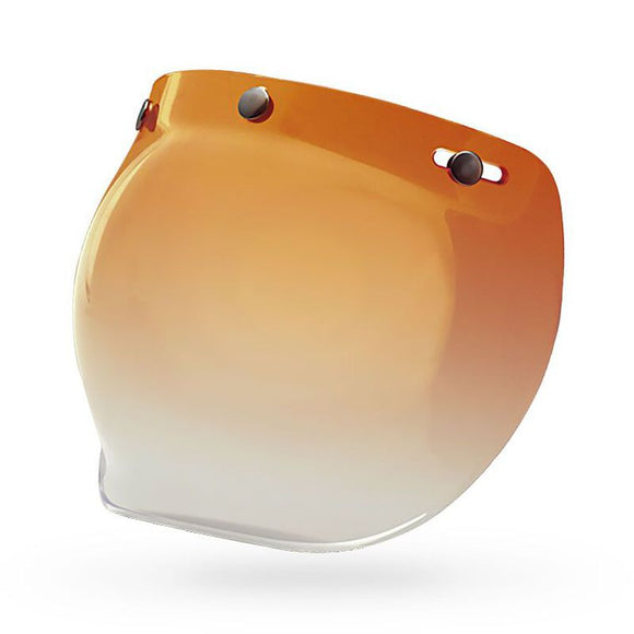 Bell 3-SNAP BUBBLE SHIELD Amber Gradient