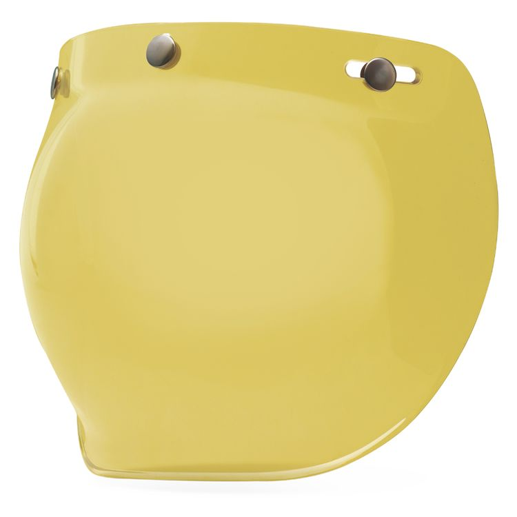 Bell 3-Snap Bubble Shield - Yellow - City Limit Moto
