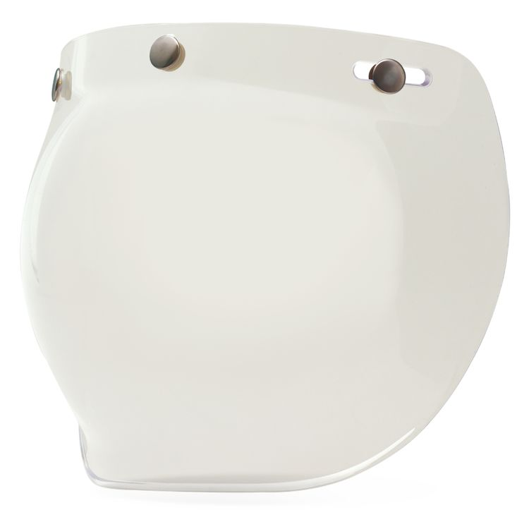 Bell 3-Snap Bubble Shield - Clear - City Limit Moto