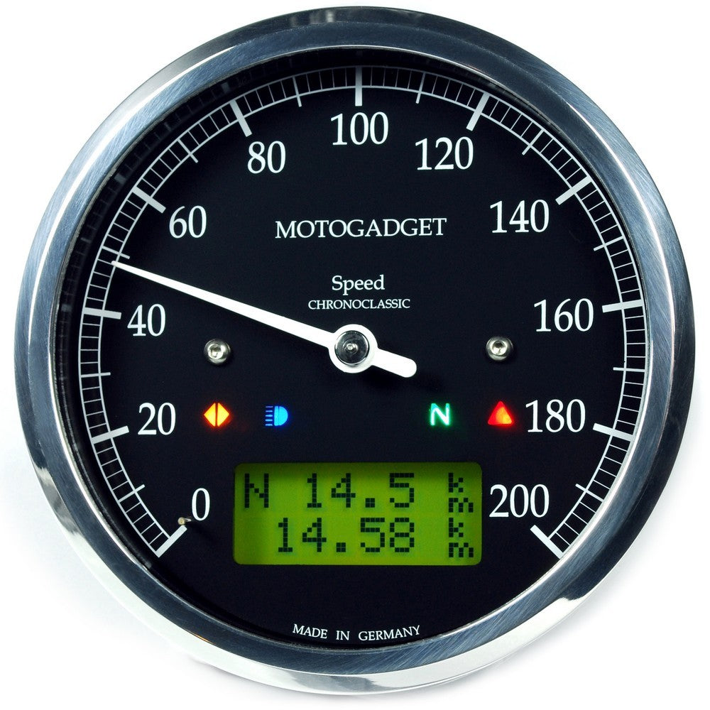 Motogadget Chronoclassic SPEEDO - City Limit Moto