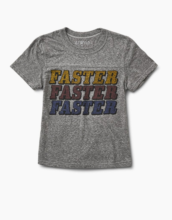 ATWYLD FASTER FASTER MINI TEE - City Limit Moto