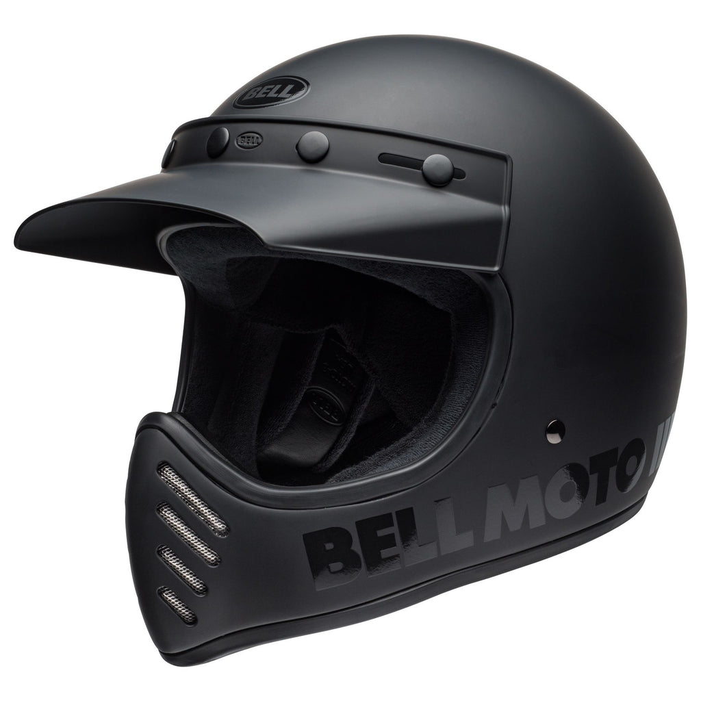 "BELL ""Moto 3"" BLACKOUT - City Limit Moto"