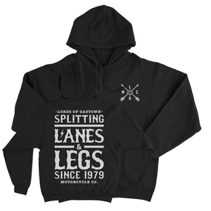 "Lords of Gastown - ""Splitting Lanes"" - Pullover Hoodie - City Limit Moto"