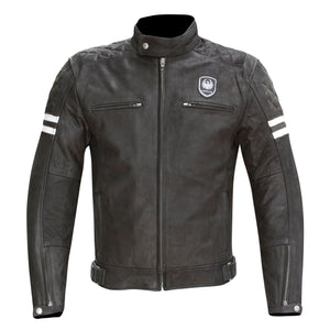 "Merlin ""Hixon"" Leather Jacket - Black - City Limit Moto"