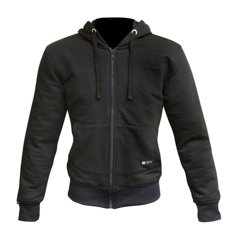 "Merlin ""Hamlin"" Kevlar Hoody - Black - City Limit Moto"