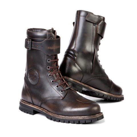 Stylmartin Rocket Boots - Brown - City Limit Moto