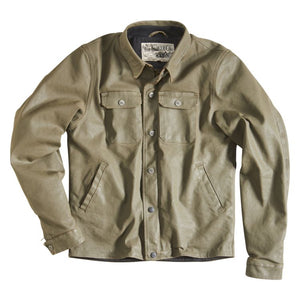 "Rokker ""ROKKERTECH"" Jacket - Olive - City Limit Moto"