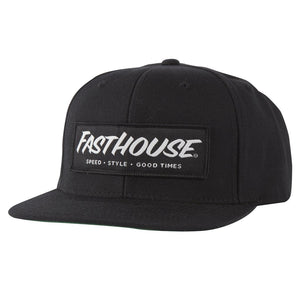 "Fasthouse ""SPEED, STYLE, GOOD TIMES"" Hat - Black - City Limit Moto"