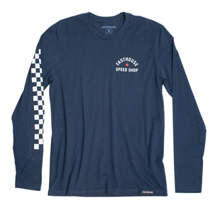 "Fasthouse ""Star"" Long Sleeve Tee - Navy Blue"