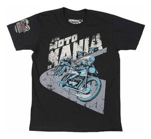 "Men's ""MOTO MANIA"" Tee - City Limit Moto"