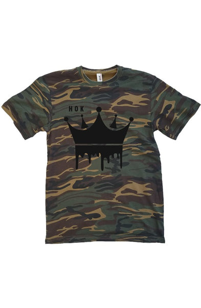 Anvil Camo T Shirt
