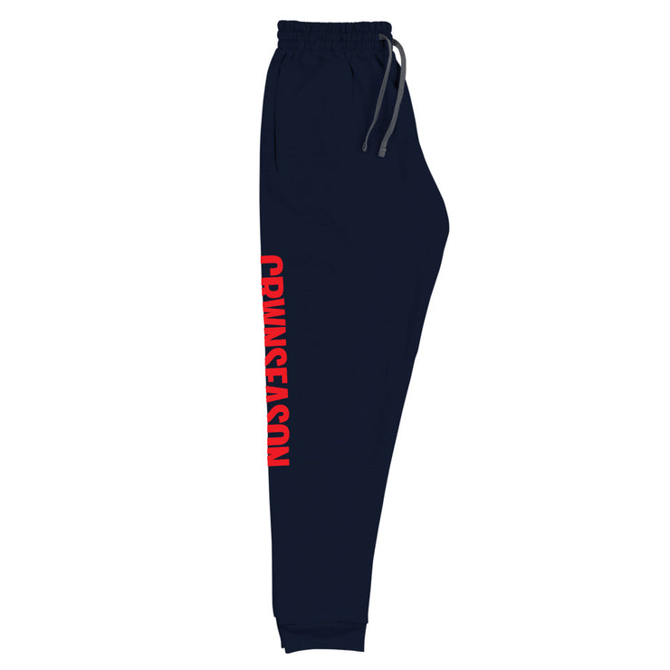 CRWNSEASON Unisex Fleece Joggers