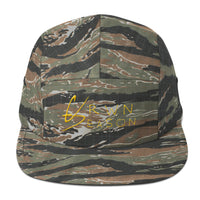 Crwn Season Tiger Camo Five Panel Cap