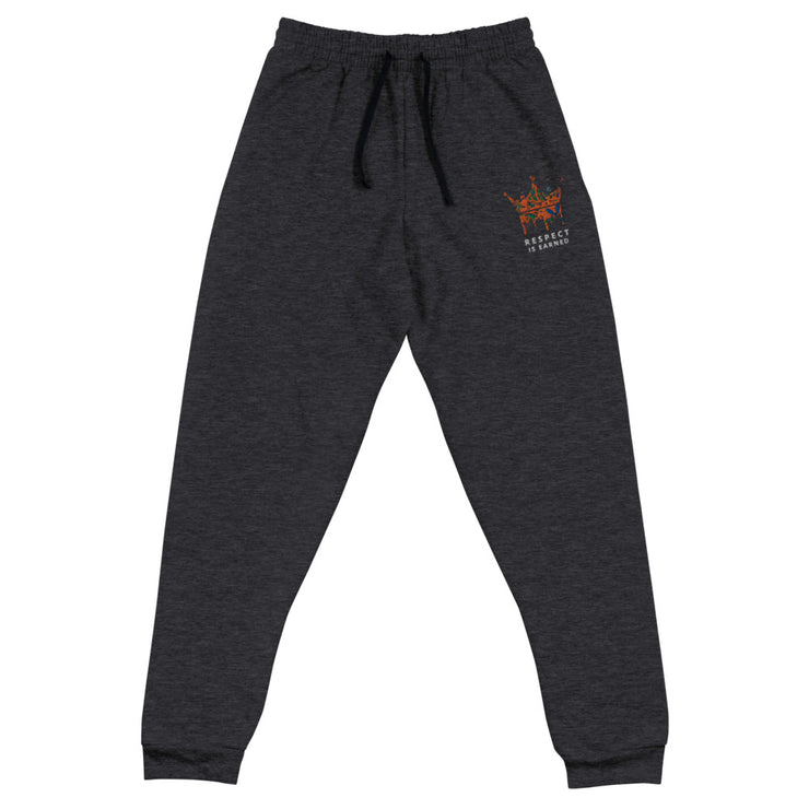 RESPECT IS EARNED Unisex Joggers
