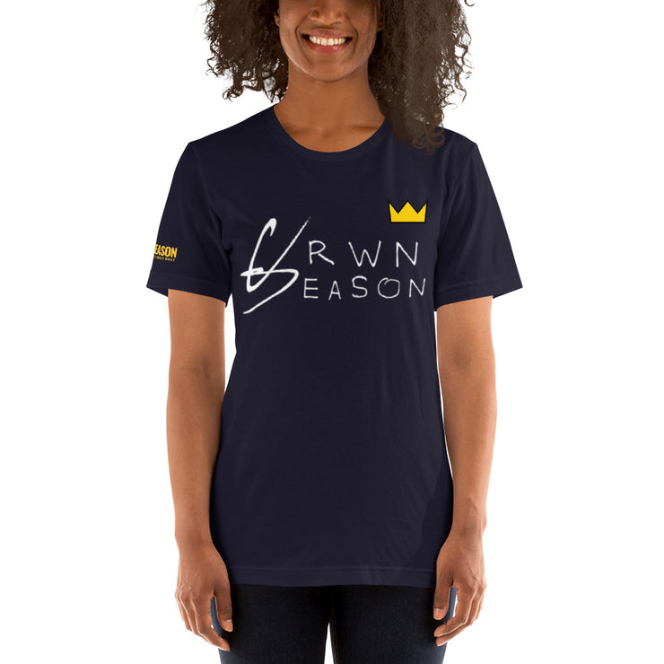 CRWNSEASON Premium T-Shirt (WHT Version)