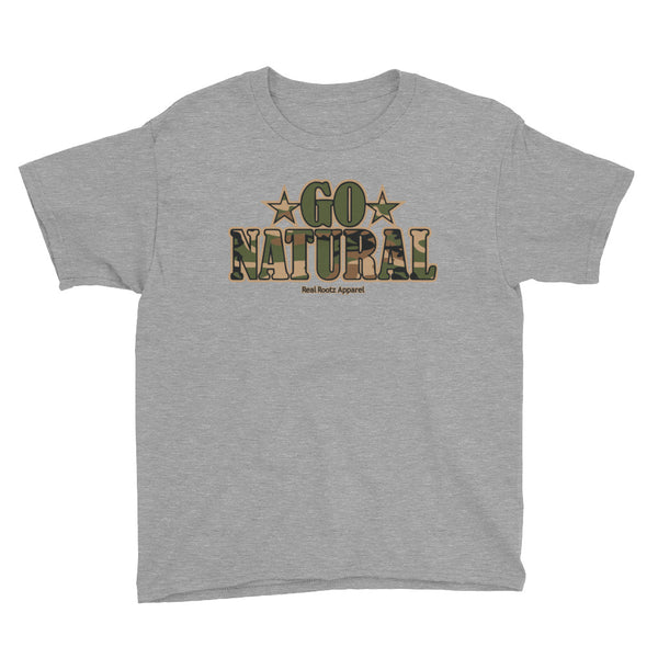 "Go Natural ""Green Camouflage"" Boy's T-Shirt"