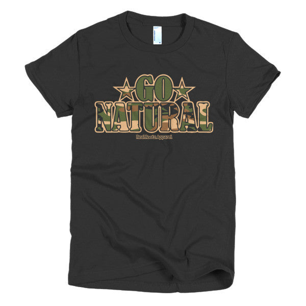 "Go Natural ""Green Camouflage"" Women's T-Shirt"