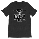 """Black Pride"" Men's T-Shirt (Black and White Lettering)"