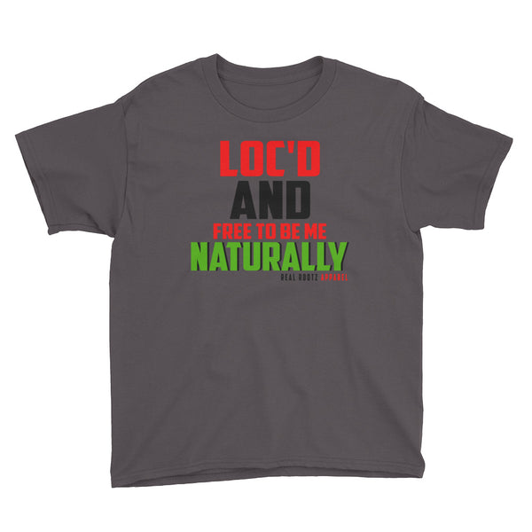 """Loc'd And FREE"" Boy's T-Shirt"